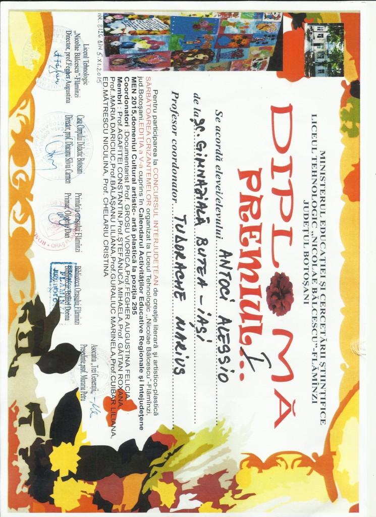 ANTOCI ALESSIO - Sarbatoarea crizantemelor